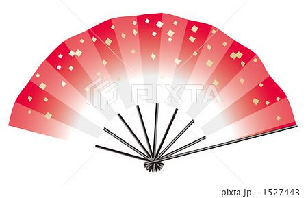 扇子 せんす センス 夏イメージのイラスト素材 Pixta