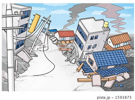 地震による被害(建物倒壊)