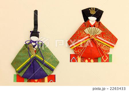 クリスマス 折り紙 : 折り紙 お雛様 : pixta.jp