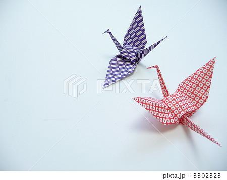 簡単 折り紙 折り紙 ツル : pixta.jp