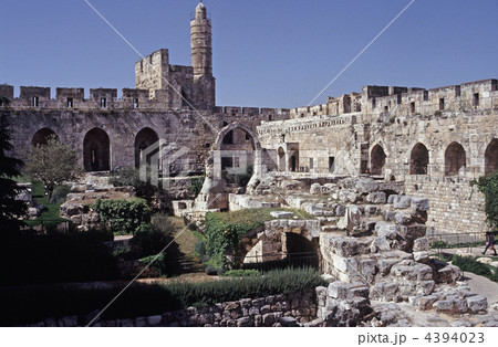 ダビデの塔 イスラエル エルサレ...