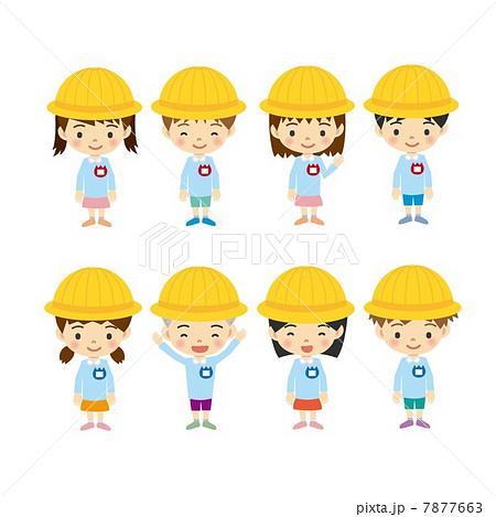 幼稚園児 幼児 幼稚園生 子供のイラスト素材 Pixta