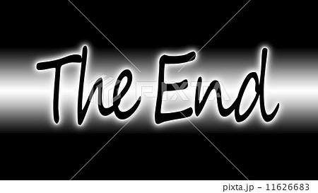 The Endのイラスト素材 11626683 Pixta