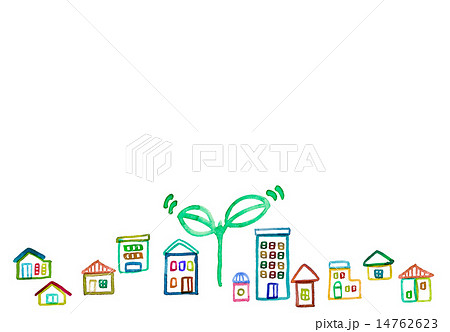 まちづくりのイラスト素材 Pixta