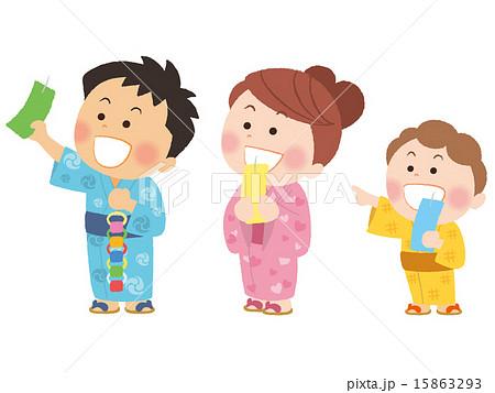 七夕 幼稚園 保育園 七夕まつりのイラスト素材 Pixta