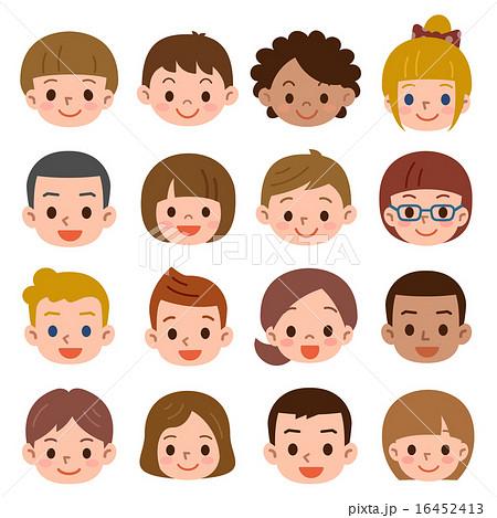 子供の顔 複数