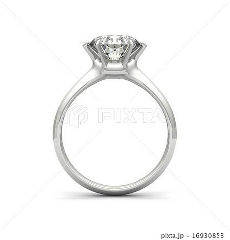 宝石 ダイヤモンド リング 指輪のイラスト素材 Pixta