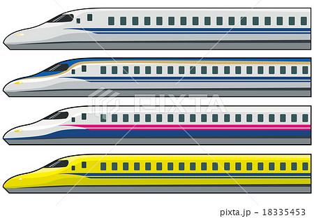 新幹線のイラスト素材集 Pixtaピクスタ