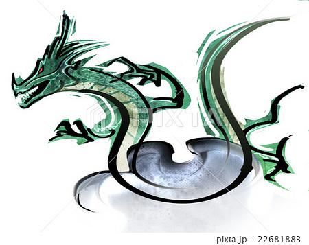 魔物浮遊のイラスト素材 Pixta