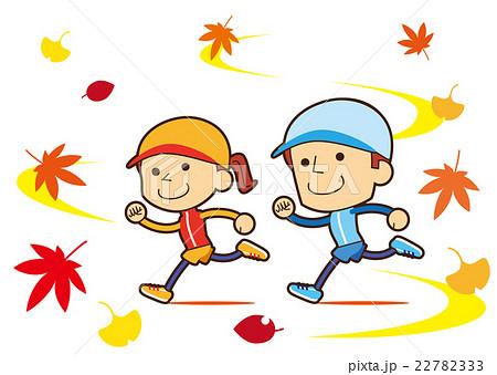 スポーツの秋のイラスト素材 Pixta