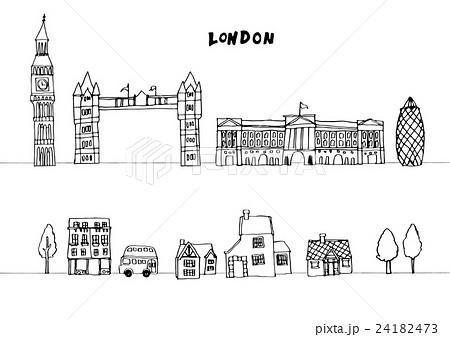 ヨーロッパ 街並み イラストのイラスト素材 24182473 Pixta
