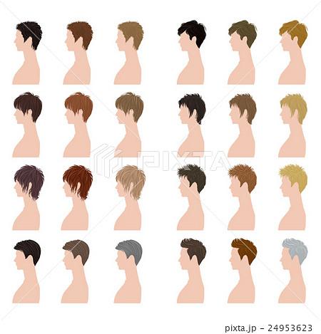 ヘアスタイル / 男性 / バリエーション