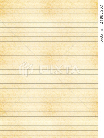a4 size sheet of old paper with centimeter gridのイラスト素材