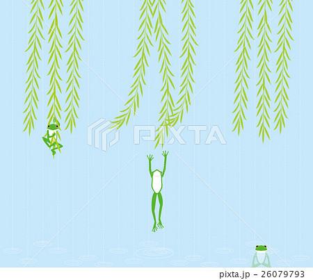 柳のイラスト素材 Pixta