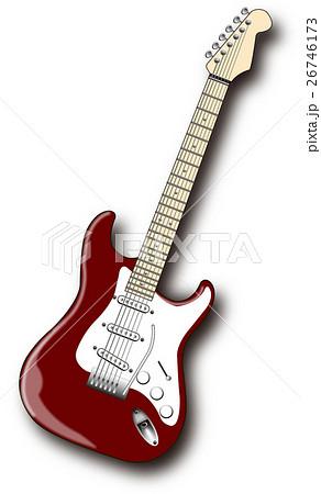 エレキギターのイラスト素材集 -...