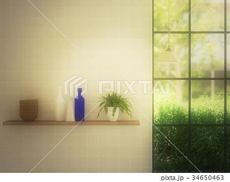 窓際のイラスト素材 Pixta