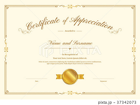 pixta certificate template diploma design for completion yelopaper Image collections