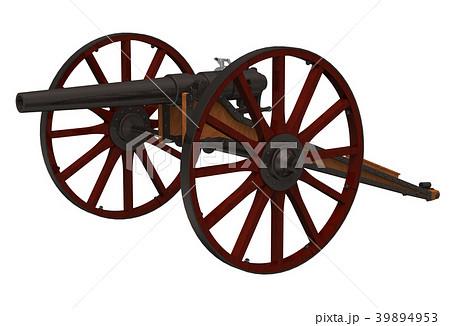 アームストロング砲のイラスト素...