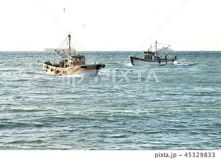 底曳き網の写真素材 - PIXTA
