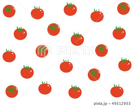 トマト 壁紙 イラスト かわいいのイラスト素材 Pixta