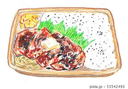 コンビニ弁当のイラスト素材 Pixta