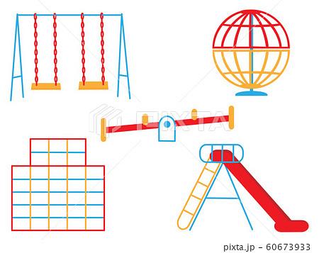 保育園 幼稚園 ジャングルジム イラストのイラスト素材 Pixta